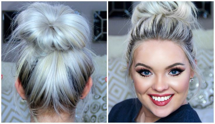 hair styles in a bun 70 best images about half moon nail on 4006 | 4006a725bb887a4950634fd89667be83 perfect messy bun messy buns