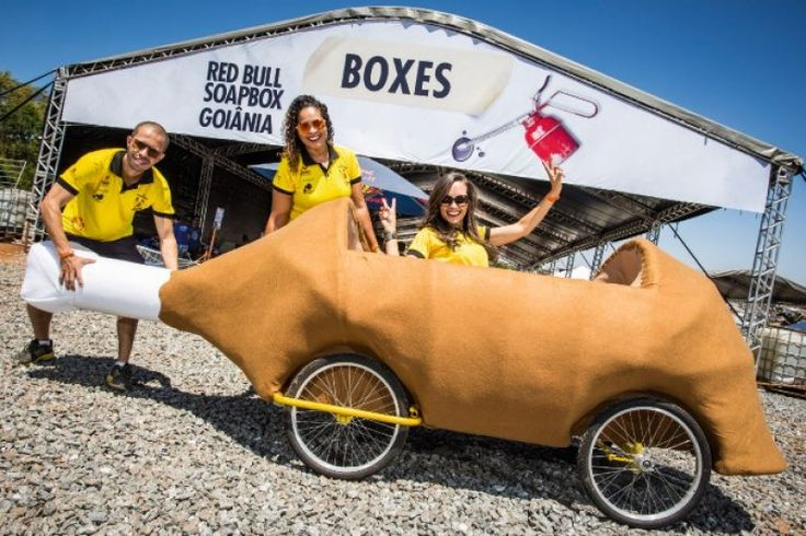 Equipe Frango com Pequi Corrida Red Bull SoapBox