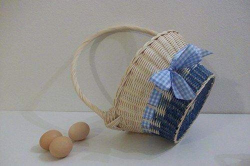 Modrý košík na přání :)