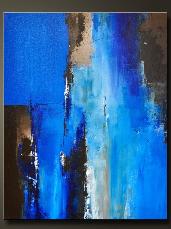 Passage 2 30 x 24 Abstract Acrylic Painting door CharlensAbstracts