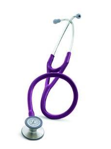 My new stethoscope. 3M™ Littmann® Cardiology III™ Stethoscope 3135. PLUM!!! Love it