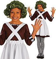 Why not dress your child up as an oompa loompa for the next World Book Day or Dahlicious Dress Up Day? One of the many great Roald Dahl fancy dress costumes over on Party Delights.