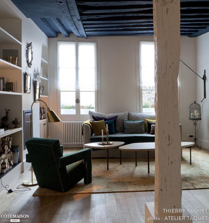 Restructuration et aménagement intérieur d'un 50 m2, par l'architecte d'intérieur Atelier Taquet