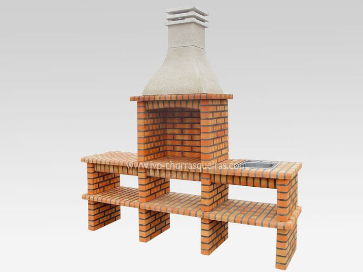 BBQ Grill 214, BBQs Grill, Barbecue, Manufacturer, Brick Barbecue Grill, BBQ refractory bricks, BBQ, good prices, BBQ grill, modern BBQ Grill, churrasqueira