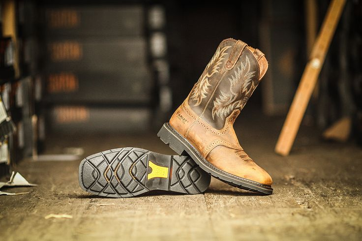 Ariat Sierra Work Boots are only $89.99 Right Now! #ariat #work #boots #tentsale