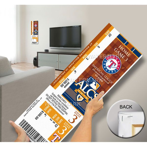 2010 ALCS Mega Ticket - Texas Rangers - $79.99