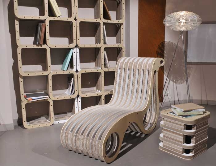 """More & X2Chair Chaise Long"" by Giorgio Caporaso - LESSMORE® visit www.lessmore.it"