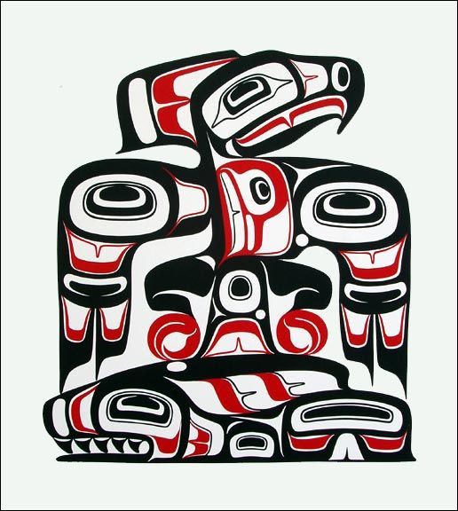 Haida Tattoo's on Pinterest | Haida Tattoo, Haida Art and Tlingit