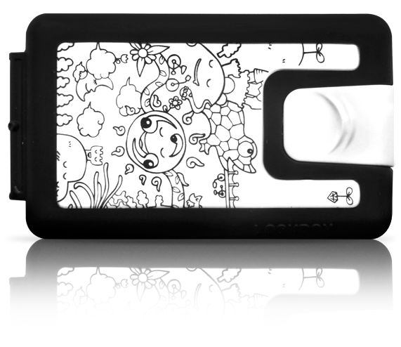 YOSHI SISLAY - Lockbox silicone illustrated wallet - $42.90 - We are shipping worldwide!