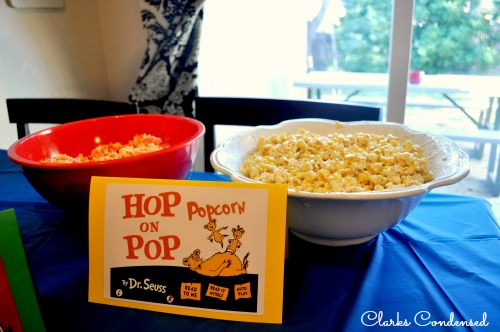 Dr. Seuss Baby Shower and Party Ideas