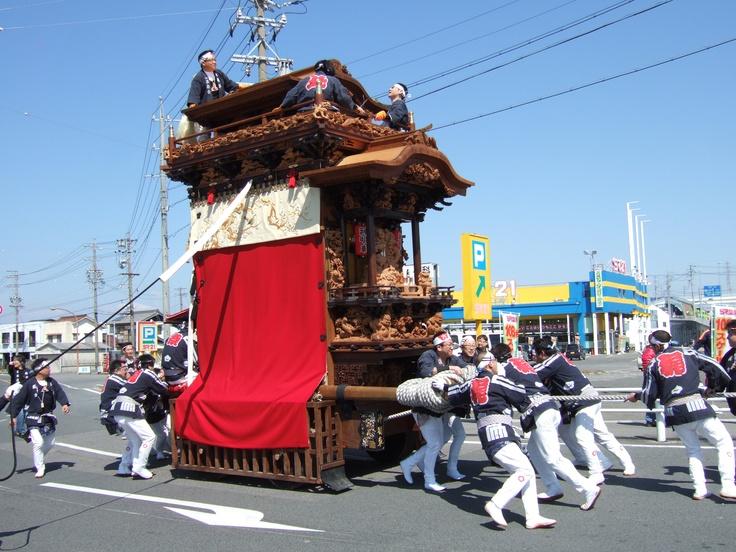 常滑祭り 山車  Tokoname festival Festival car