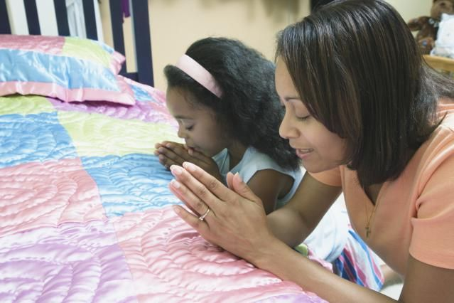 Sweet prayers for my baby!   3 Easy Bedtime Prayers to Teach Your Child