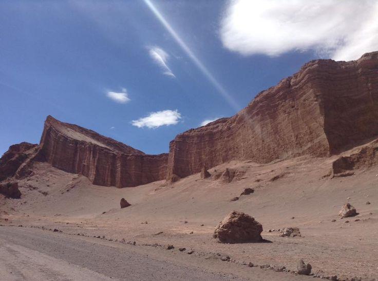 Valle de la Luna; Anfiteatro, San Pedro de Atacama