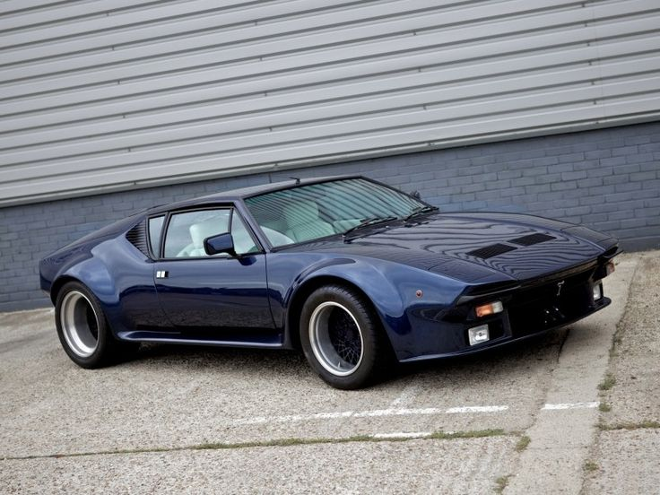 De Tomaso Pantera 1972-1979 - Bruut!