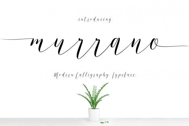 Murrano Script By Decavantona