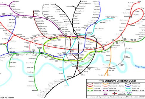 A view of London through its maps