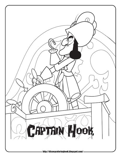 Jake And The Neverland Pirates Cubby Coloring Page | coloring pages ...