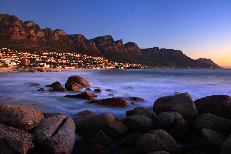 The 12 Apostles in Cape Town, South Africa - one of my favorite places.