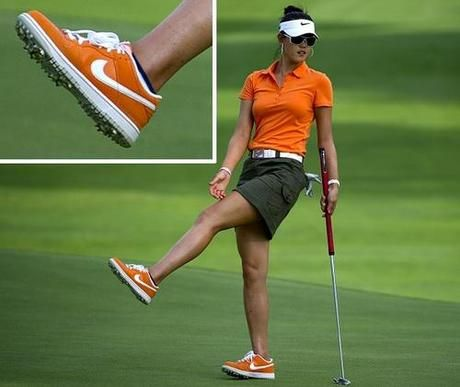Nike golf shoes let Michelle Wie, Anthony Kim show true colors on the course