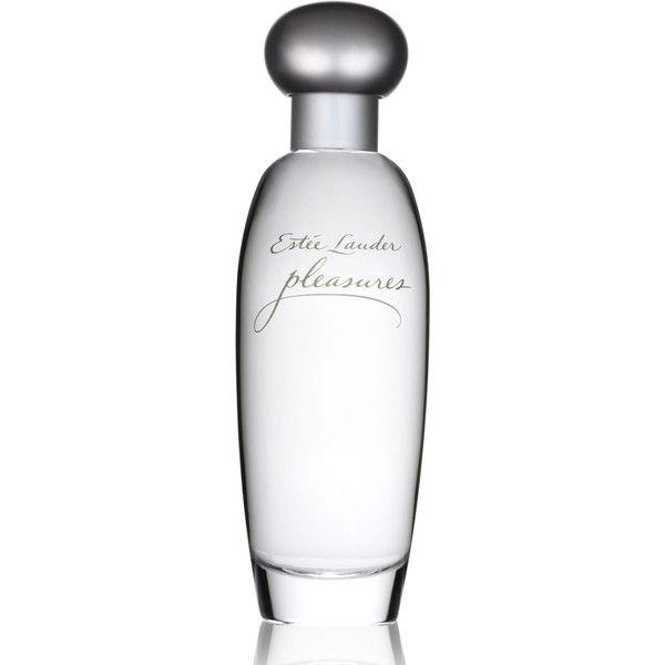 Estee Lauder Pleasures Eau de Parfum found on Polyvore featuring beauty products, fragrance, eau de parfum perfume, blossom perfume, floral fragrances, estee lauder fragrances and estee lauder perfume
