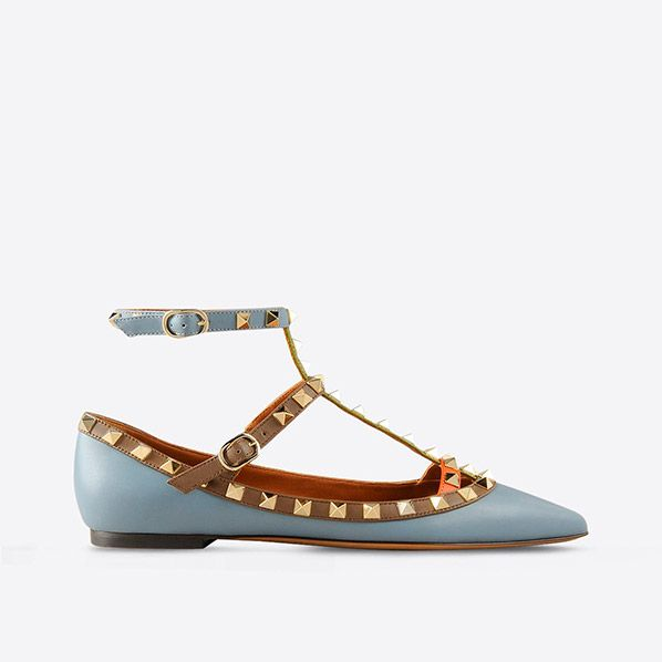 "These Valentino slipper bring new meaning to ""Hey, stud."""