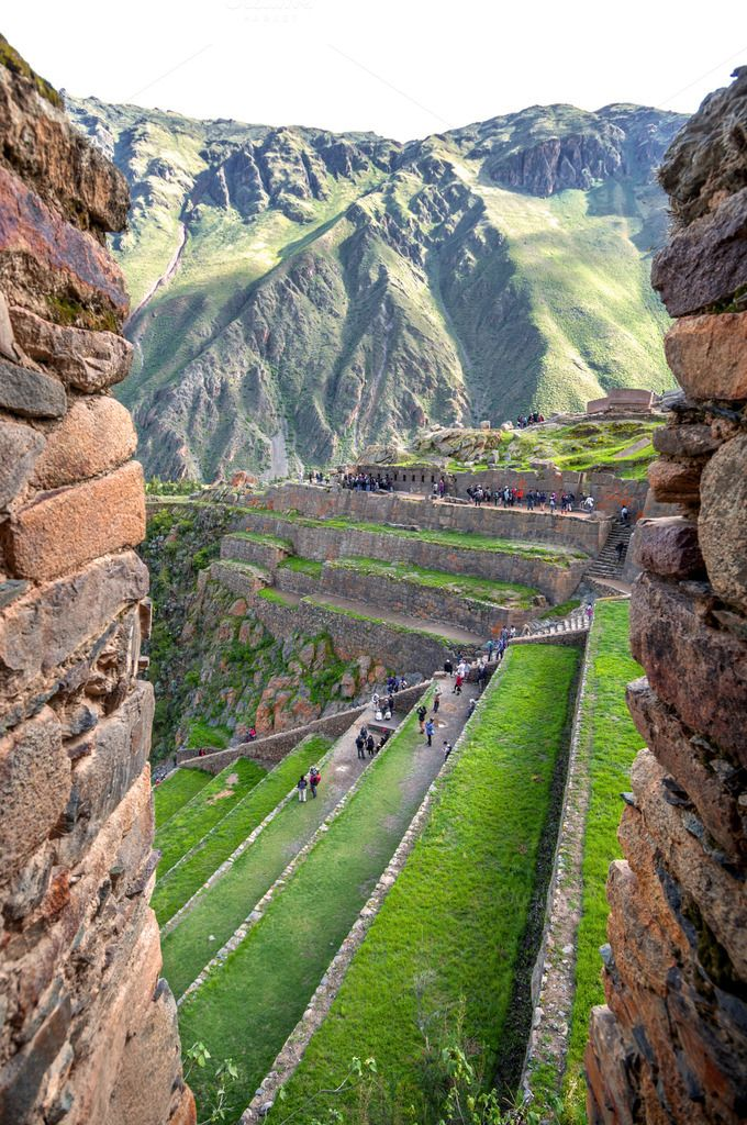 Ollantaytambo, Cusco, Peru by Eduardo Huelin on Creative Market