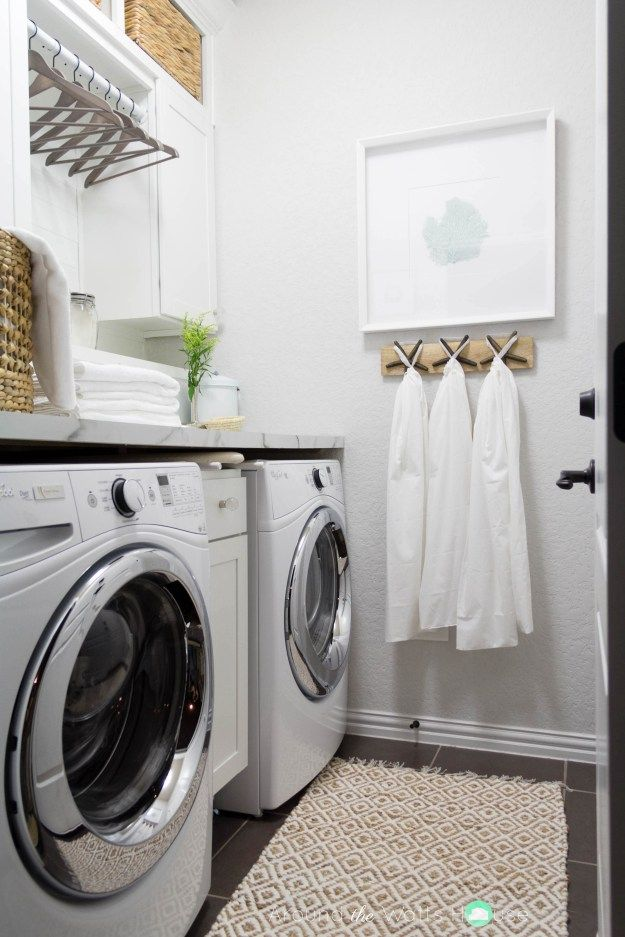 Laundry Room Laundry Room Makeover One Room Challenge Fall 2015 Around