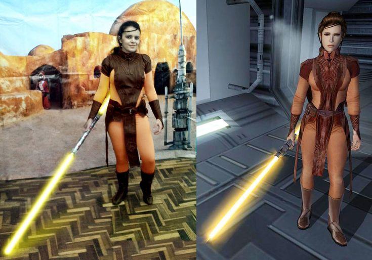 Bastila Shan cosplay - Star Wars KotOR #1 by sheilajerusa