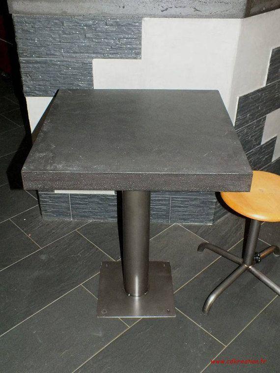 M s de 1000 ideas sobre mesa de concreto en pinterest for Mesa comedor hormigon