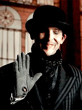 Oh, Oswald...I'm sorry but he is the most insane yet sane person on the show...
