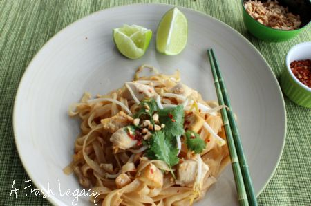 Authentic Pad Thai Recipe  from A Fresh Legacy  http://afreshlegacy.net/authentic-pad-thai-recipe#