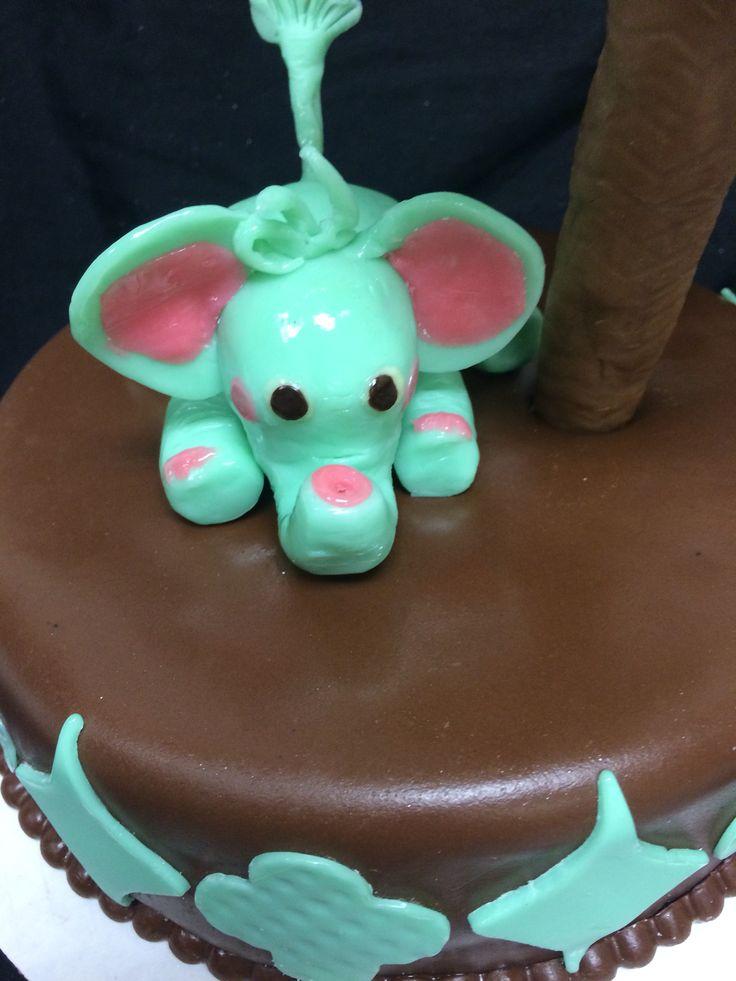 White chocolate elephant