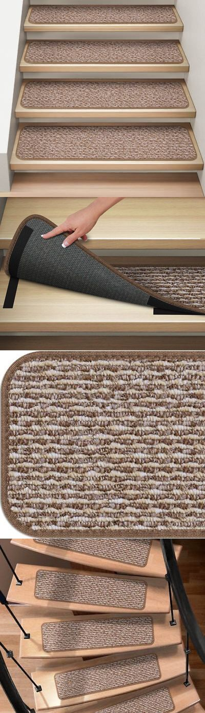Best Stair Treads 175517 Set Of 12 Attachable Carpet Stair 400 x 300