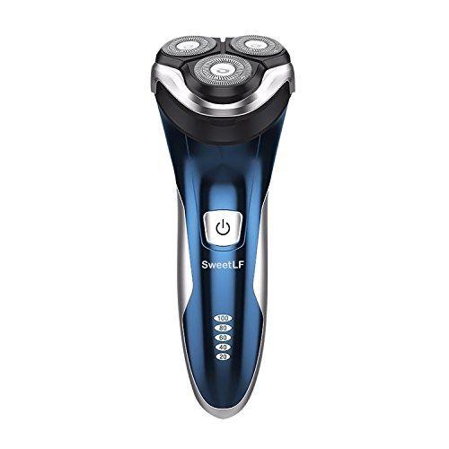 sweetlf rasoir electrique homme tondeuse barbe rechargeable ipx7
