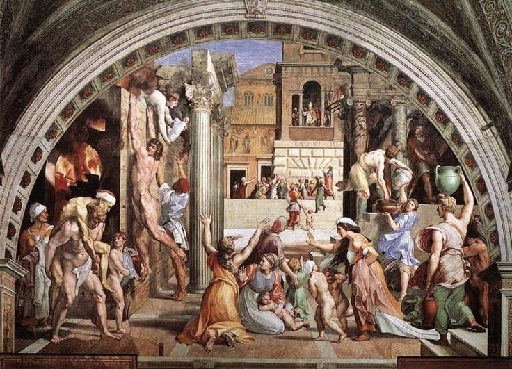Pieza de Arte Moderno - RENACIMIENTO (Rafael Sanzio)