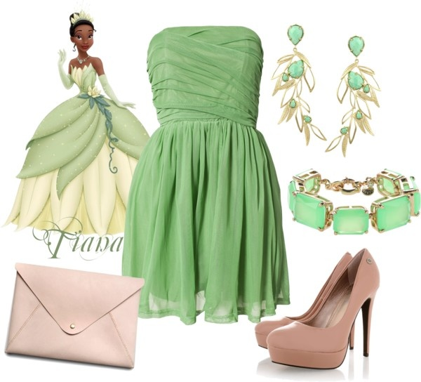 Tiana Disney Princess Prom Outfit In 2018 Style Dresses Outfits Lace Dress