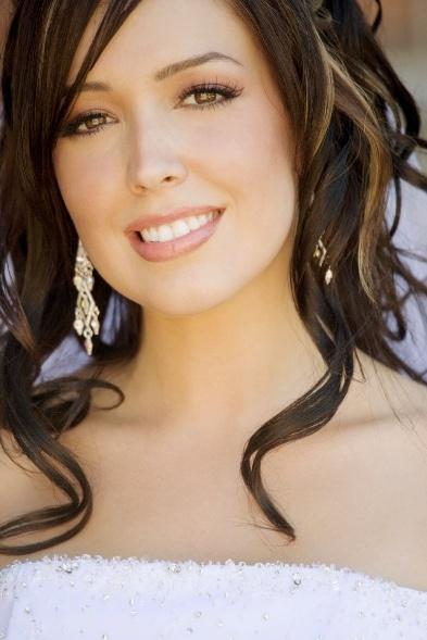 Natural Bridal Make-Up  Bride: Gina P., Florida  MAKEUP BY: Valerie Schneider