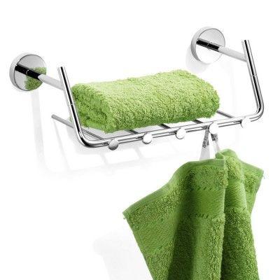 Gästehandtuchkorb mit Haken Wand-Handtuchkorb für Ihre Gästehandtücher mit Handtuchhaken. Aus hochwertigem Messing für Ihr Bad oder Gäste WC.