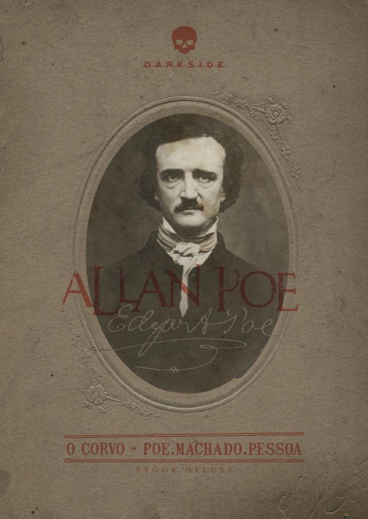 Resenha, O-Corvo, Edgar-Allan-Poe, Darkside, poema, trecho, opiniao, critica, capa, ebook