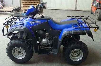 New 2015 Roketa 250cc LG Ascender Utility ATV - Liquid Cooled ATVs For Sale in Illinois. Features:40 MPH250cc EngineLiquid CoolingDisc BrakesSpecifications:EngineType: Single cylinder, water-cooling, four-strokeIgnition mode: CDICompression proportion: 10.5:1Start mode: electricMeter: Central Headlight with SpeedometerFuel tank capacity: 11LTransmission mode:shaft drivePower: 10.5kW/7,500rpmMax. torque: 15Nm/5,500rpmMin. ground clearance: 155mmMax. speed: 40 MPHPower source: 12V…