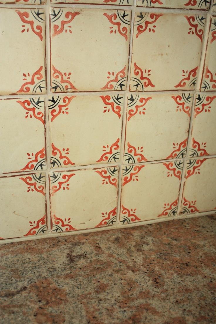 85 best backsplash for delicatus images on pinterest home ideas walker zanger hand formed hand painted backsplash tile in my cottage kitchen dailygadgetfo Image collections