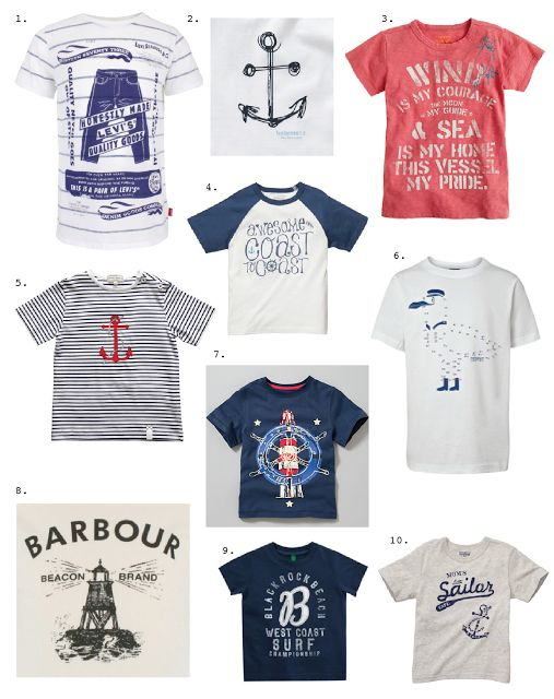 Emily Kiddy: Trend Update - Spring Summer 2012 - Summer Sailing