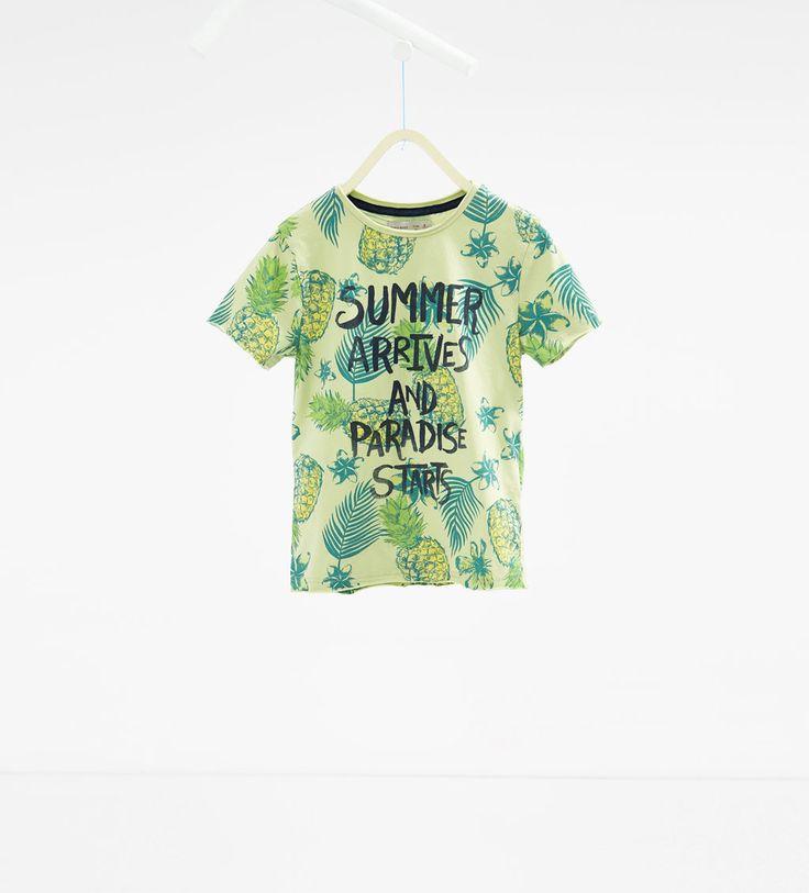 Camiseta estampado piña