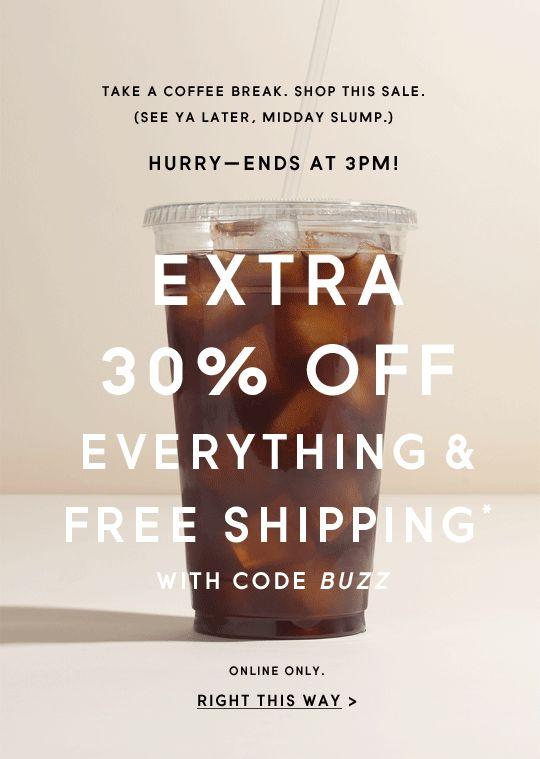 JCrew sale email. GIF