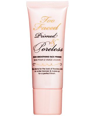 Too Faced Primed & Poreless Skin Smoothing Face Primer - Makeup - Beauty - Macy's