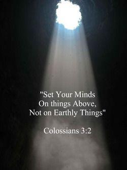 Colossians 3:2