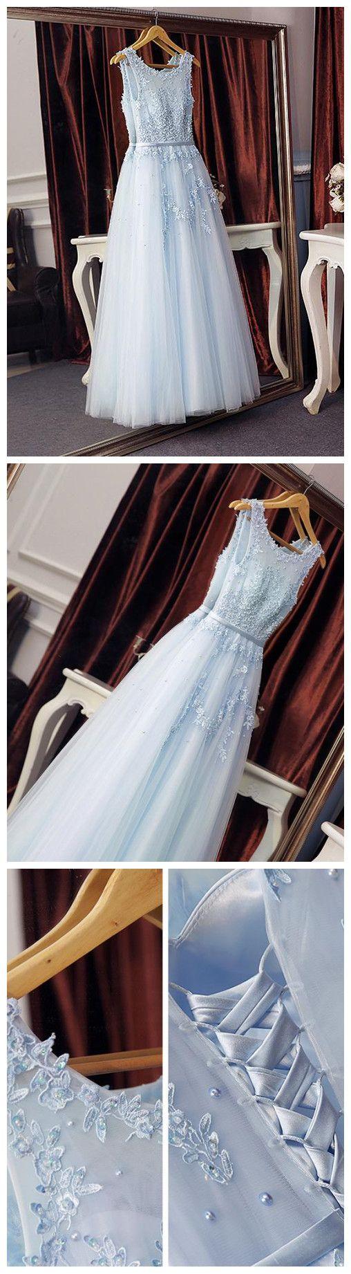 prom dresses long,prom dresses blue,prom dresses a line,prom dresses modest,prom dresses 2018,prom dresses tulle,prom dresses applique #scoop #tulle #cheap #2018