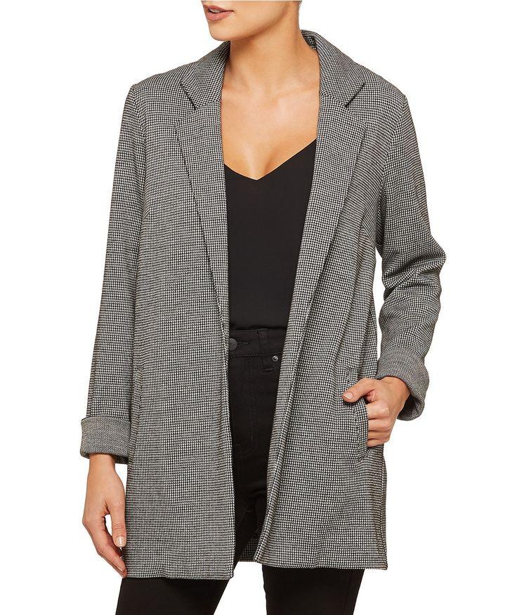 Eclectic Minx - Textured Duster Coat - Clothing - Sportsgirl