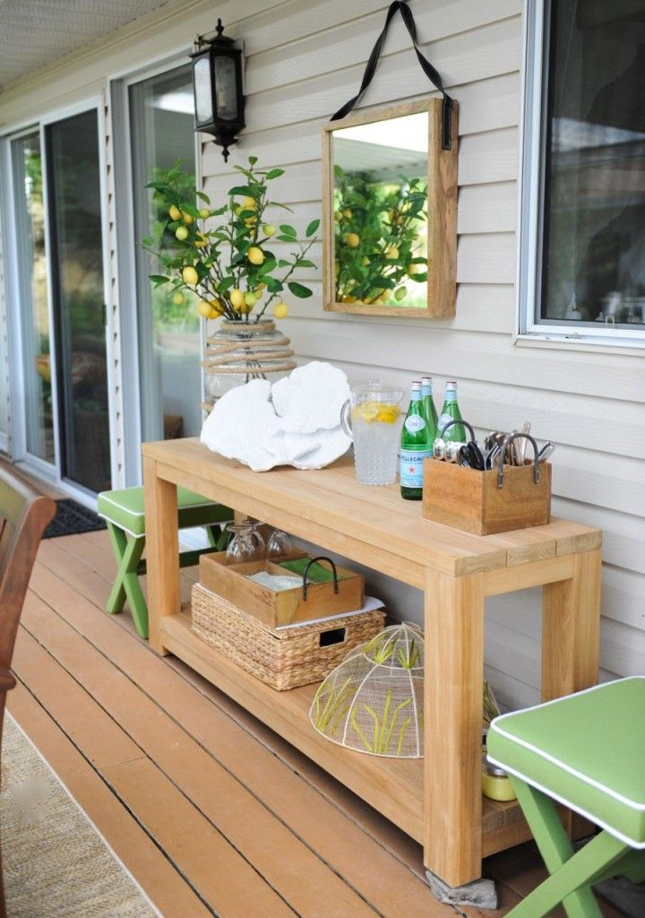 Best 25 Outdoor Console Table Ideas On Pinterest Diy