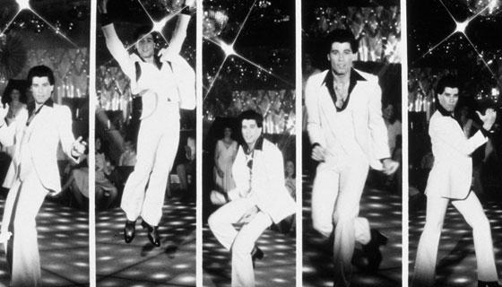 "John Travolta in ""Saturday Night Fever""(directed by John Badaham in 1977) #dance #movie"